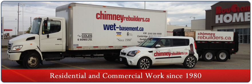 Chimney Repairs Kitchener - Banner Image 2
